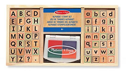 "Melissa & Doug - Kinder-Stempelset ""ABC"" / Alphabet * von Melissa & Doug inkl. GRATIS-Scratch-Art"