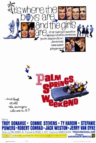 Palm Springs Weekend Plakat Movie Poster (11 x 17 Inches - 28cm x 44cm) (1963)