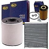 Filterset Inspektionskit 1.6 TDI 1 Pollenfilter 1 luftfilter 1 Ölfilter 1 Ölablassschraube