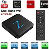 2.4G/5G Wifi Zenopllige Z11 PRO Android TV BOX 2G/16G Bluetooth 4.0 4K HD Android 6.0 Amlogic S905X Quad Core TV Box Smart TV BOX