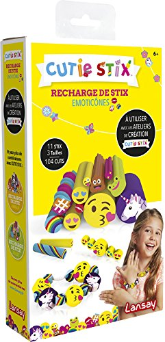 Lansay - 33103 - Cutie Stix Recharge Emojis
