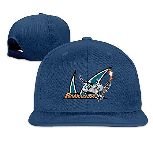 Adult San Jose Barracuda Cool Trucker Adjustable Hat