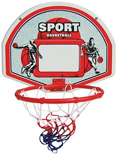 New Plast cb1616 - Sonic Panier de basket avec ballon, diamètre 28 cm
