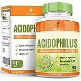 Lactobacillus Acidophilus - 10 Milliards d'UFC - Supplément de Santé Digestif Probiotique Offrant des Niveaux...