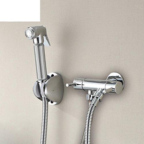 HCP Toutes les toilettes de cuivre toilettes vanne d'angle pistolet/bidet Simple froid