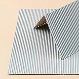 Auhagen 50108.0 - Dekorpappen Wellblech oder Eternit, 200 x 200 mm, bunt