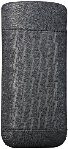 Ozaki OC551LA O!Coat Nature Lakes Kunst Ledertasche für Apple iPhone 5/5S/SE braun Grau