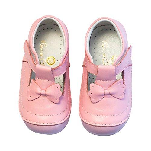 ROSE ET CHOCOLAT Chaussures premiers pas Noeud chaussures bébé