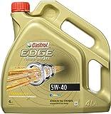 Castrol 05013937 Edge Turbo Diesel 5W-40 Titanium FST Motoröl Motorenöl 4 L Liter