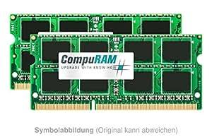 Mémoire vive 8Go rAM &extension» samsung r530 ordinateur portable série r», 204 broches, sO-dIMM dDR3 rAM dDR3 pC 3–10600 1333MHz»