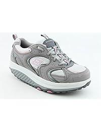 721c18c45b75f5 Skechers Shape-Ups Action Packed Damen Muskelaufbau Schuhe Display