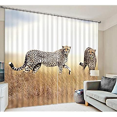 GYMNLJY Animale 3D di tende personalizzate stampa