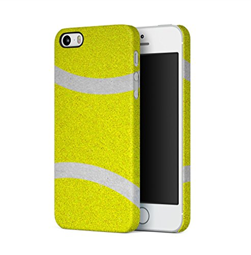 Tennis Ball Pattern Apple iPhone 5 / iPhone 5S / iPhone SE SnapOn Hard Plastic Phone Protective Fall Handyhülle Case Cover Iphone 5 Fall-hockey