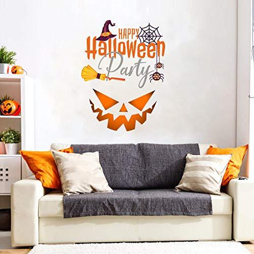 Wandaufkleber Wohnzimmer Wandaufkleber Diy Halloween Urlaub Party Supplies Home Horror Ghost Face Wohnzimmer Schlafzimmer Hintergrund Malerei Dekorative Aufkleber