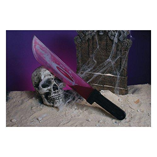 tte Neuheit Spielzeug Outfit Accessoire für Kostüm Scream Blutend machette (Blutende Scream Kostüm)