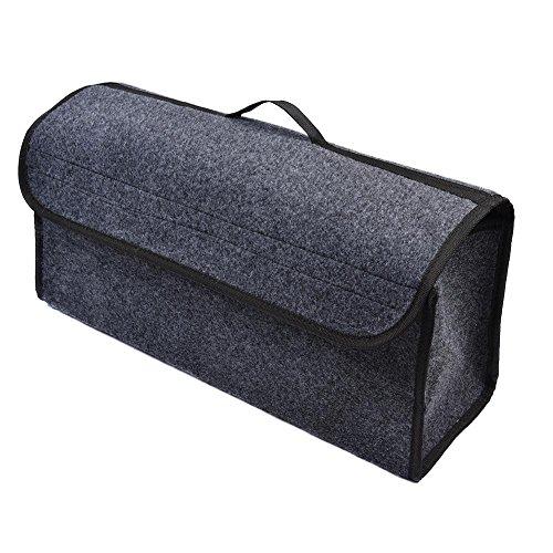 Caja de almacenamiento plegable para el compartimento del coche, bolsa de almacenamiento para maletero, organizador para viajes en coche