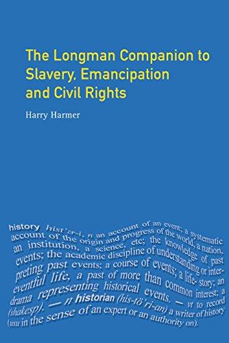Longman Companion to Slavery, Emancipation and Civil Rights (Longman Companions To History) por Harry Harmer