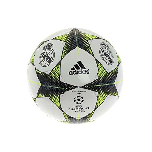 adidas Finale Mini Liga De Campeones Real Madrid fútbol b-grade Wht balón de fútbol, blanco