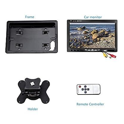 Mini-7-Zoll-Auto-Monitor-Kenowa-800×480-Hintergrundbeleuchtung-TFT-LCD-HD-Farbe-Bildschirm-fr-Auto-Rckfahrkamera-Auto-DVD-berwachung-Kamera-mit-Stand-Fernbedienung-und-2-AV-Eingang