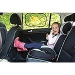 51-feTl41XL._SS150_ Autositzschoner aus Royal-Oxford-Material - Premium Autositzauflage - Auto-Kindersitzunterlage für Textil- und Ledersitze - Der perfekte Sitzschoner Auto Kinersitz - Isofix geeignet - wasserabweisend