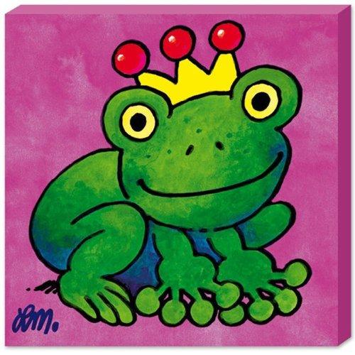 Lutz Mauder 10333 Keilrahmenbild Froschkönig