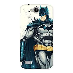 Delighted Knight Hunt Multicolor Back Case Cover for Honor Holly