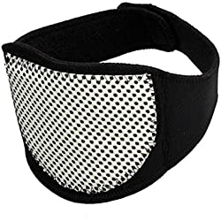Collarin de Turmalina Terapeutico para el Dolor Cuello Vertebras Cervicales 4215_salud