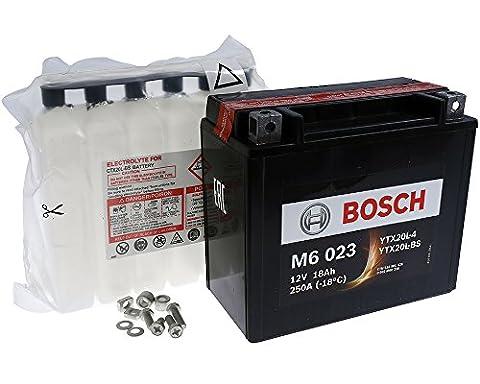 Batterie BOSCH YTX20L-BS 12 Volt - HARLEY DAVIDSON FXD Series 1340 97-98