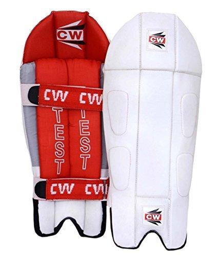 CW Handschuhe für Wicketkeeper Pad Test weiß