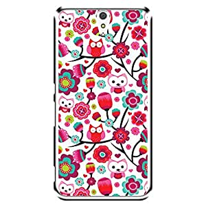 """Bhishoom Designer Printed 2D Transparent Hard Back Case Cover for """"Sony Xperia C5 Ultra Dual"""" - Premium Quality Ultra Slim & Tough Protective Mobile Phone Case & Cover"""