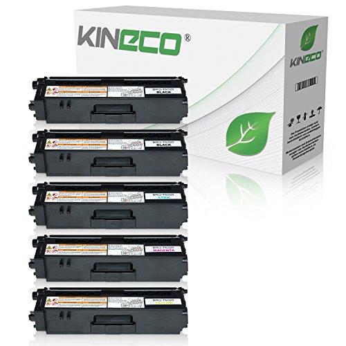 5 Toner kompatibel zu Brother TN-325 für Brother DCP-9055CDN, DCP-9270, HL-4140, HL-4150, HL-4570, MFC-9460CDW, MFC-9970, MFC-9560 - Schwarz je 4.000 Seiten, Color je 3.500 Seiten (Brother Mfc 9970-toner)