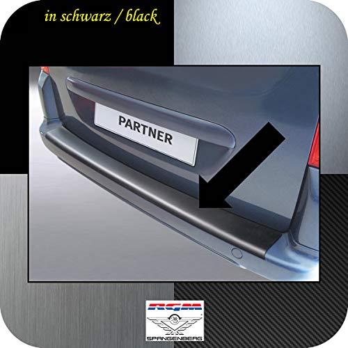 Richard Grant Mouldings Ltd. Original RGM Ladekantenschutz schwarz für Peugeot Partner II Tepee Baujahre 04.2008-08.2018 RBP302