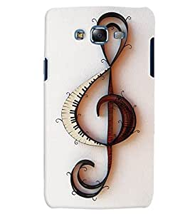 Citydreamz Music/Sound/Notes/Instruments Hard Polycarbonate Designer Back Case Cover For Samsung Galaxy J7 2016 /J76/J710