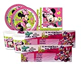 IRPot - KIT 84 PZ. KIT COMPLEANNO MINNIE DISNEY + INVITI N.23