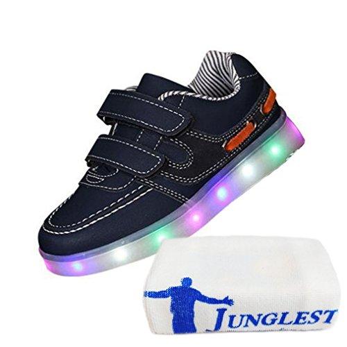 kleines Blink present C13 Handtuch Schädel Led Unisex 7 Schwarz beleuchtung junglest® Farbe ZAA6WRqwO