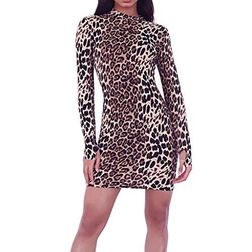 e5a93401c Vestido Corto Mini Sexy Ajustado para Mujer Primavera Invierno