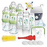 MAM Premium Vorteilspack II Starterset 19 tlg. Anti-Colic Flaschen Set Bürste MAM Babykostwärmer