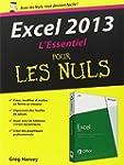 Excel 2013 L'Essentiel Pour les Nuls