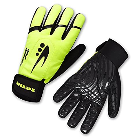 Unisex Cold Weather Plus Gloves - Hi-Viz Yellow - XS (W: M/L)