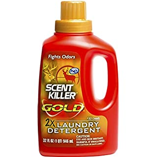 Wildlife Research 1249 Gold Clothing Wash Scent Killer 32 OZ by Wildlife Research
