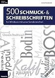 Franzis 500 Schmuck- und Schreibschriften Bild