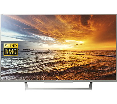 Sony Bravia KDL32WD752SU 32-Inch Smart Full HD TV (X-Reality PRO, Slim and Streamlined Design) - Silver (Certified Refurbished)