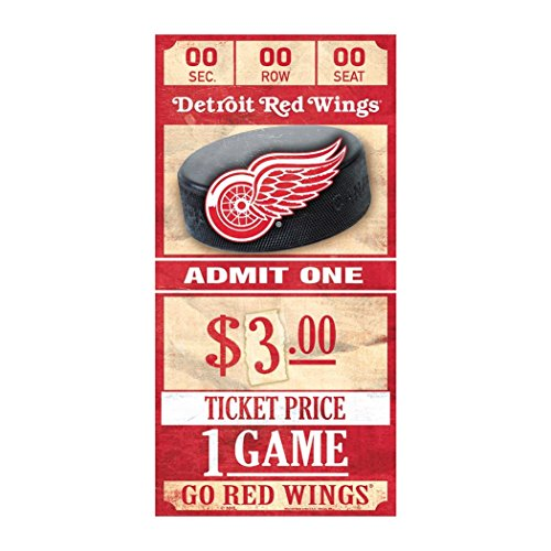 Wings NHL Ticket Schild ()