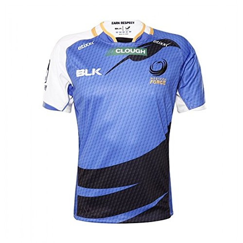 Blk Western Force Replica Home Jersey 2016
