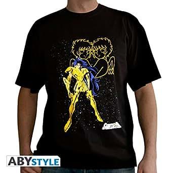 Saint Seiya - T-Shirt Saga des Gémeaux Black - XS