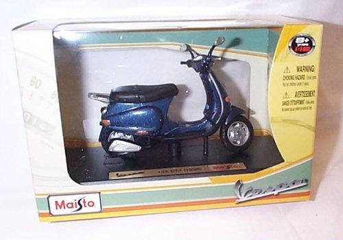 maisto metallic blue 125 ET4 1996 vespa 1.18 scale diecast model by Maisto
