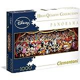 Clementoni - Puzzle disney panorama 1000 piezas disney orchestra (39347)