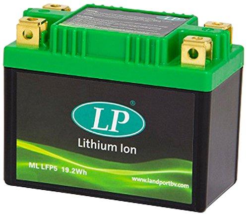 Accossato ML LFP5-881 Batteria al Litio per Piaggio Vespa LX 2T, LXV 2T, 50