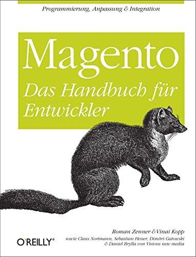 Magento - Das Handbuch für Entwickler Buch-Cover