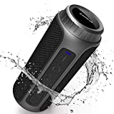Zamkol Cassa Bluetooth 5.0, 30W HD Stereo Altoparlante Portatile con Bassi Potenti, IPX6 Waterproof Speaker bluetooth, TWS & AUX & Micro SD e Chiamata Vivavoce, per Smartphone, Esterno,Viaggio